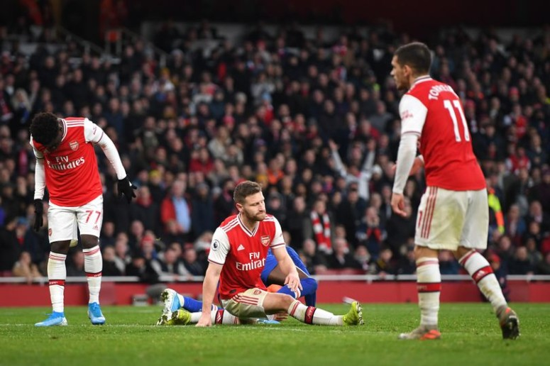 Arsenal lost 2-1 to Chelsea on Sunday afternoon